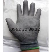 Găng tay PU phủ bàn xám