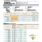 Hạt dao cắt rãnh SMGTR16X2100C MITSUBISHI